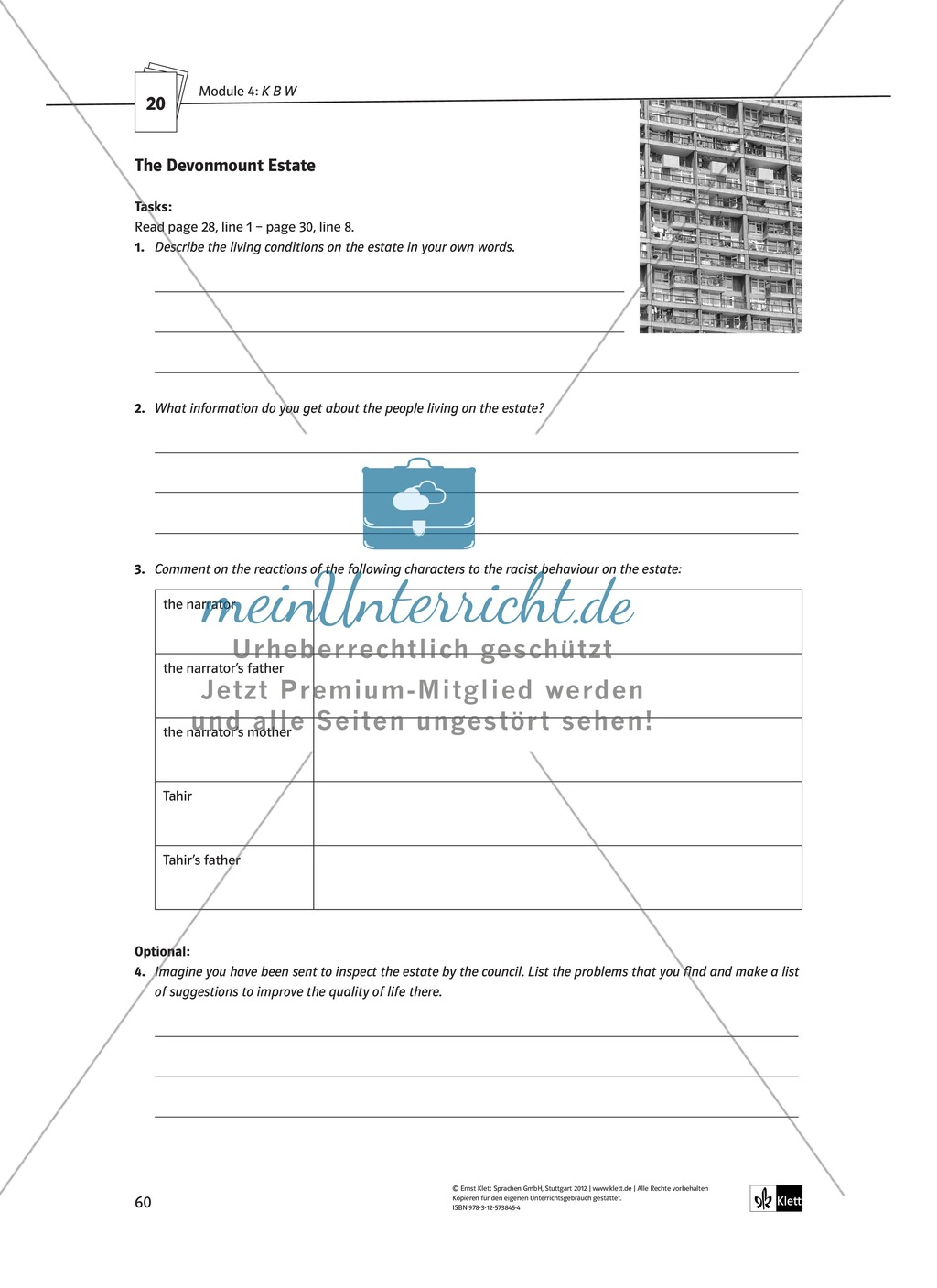 KBW: Zusammenfassung + Aufgaben + Arbeitsblätter Preview 15