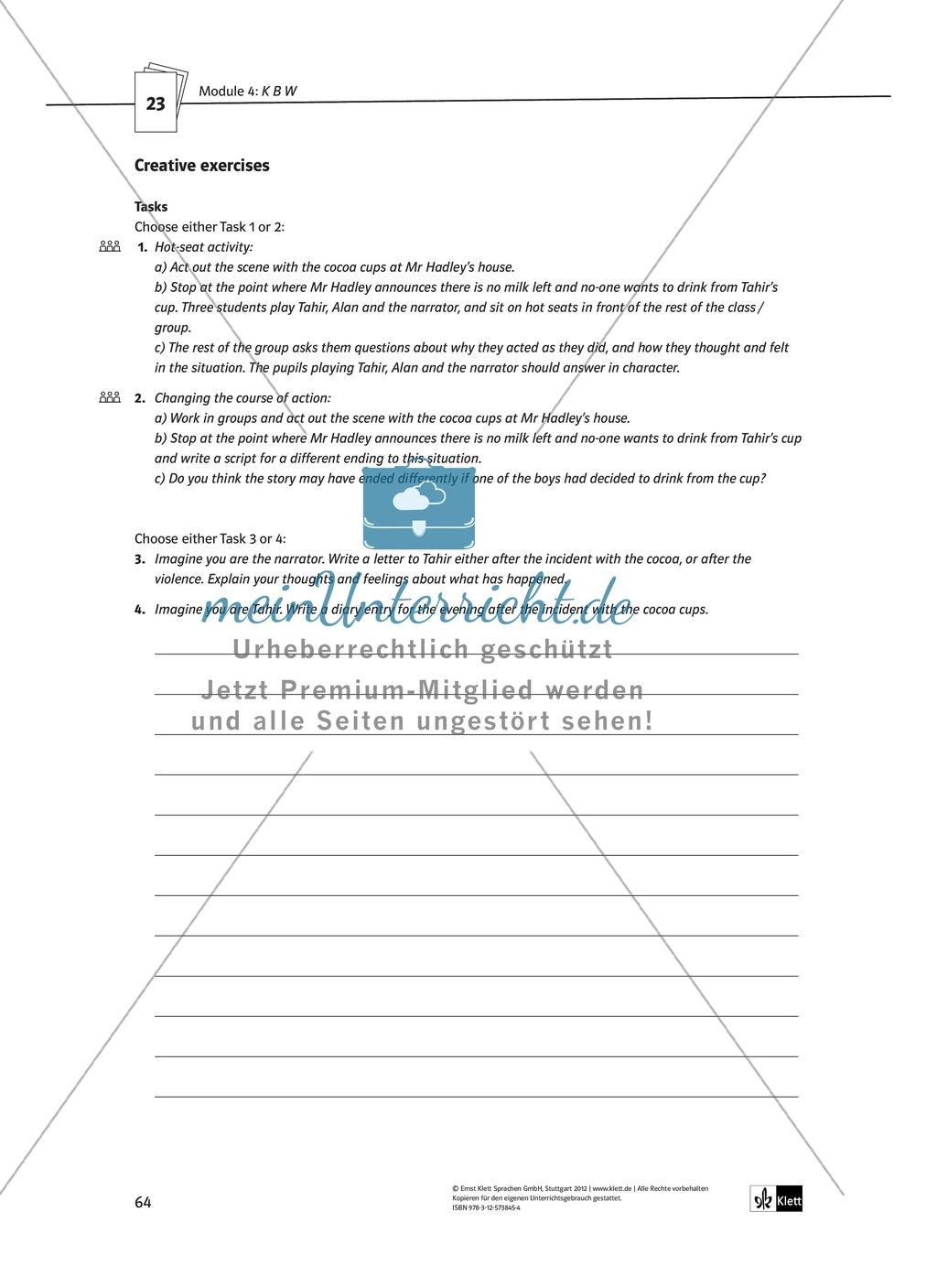KBW: Zusammenfassung + Aufgaben + Arbeitsblätter Preview 19