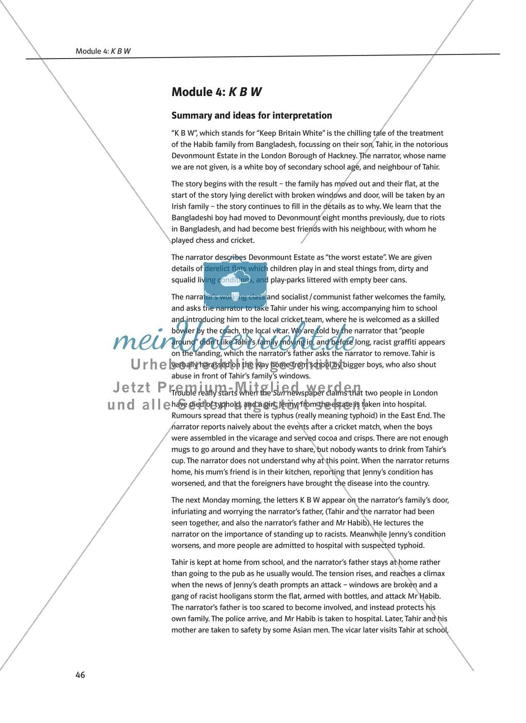 KBW: Zusammenfassung + Aufgaben + Arbeitsblätter Preview 0