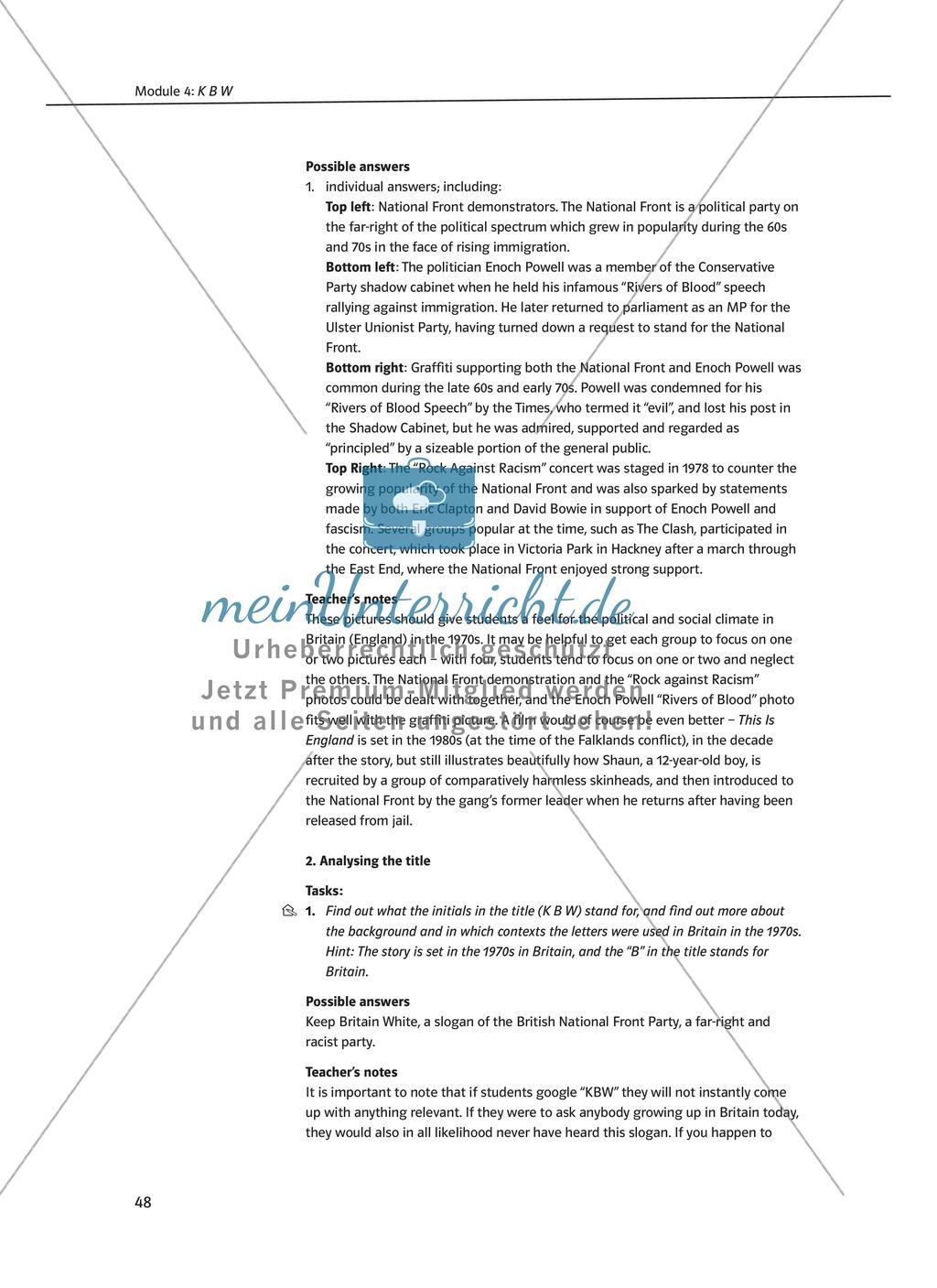 KBW: Zusammenfassung + Aufgaben + Arbeitsblätter Preview 2