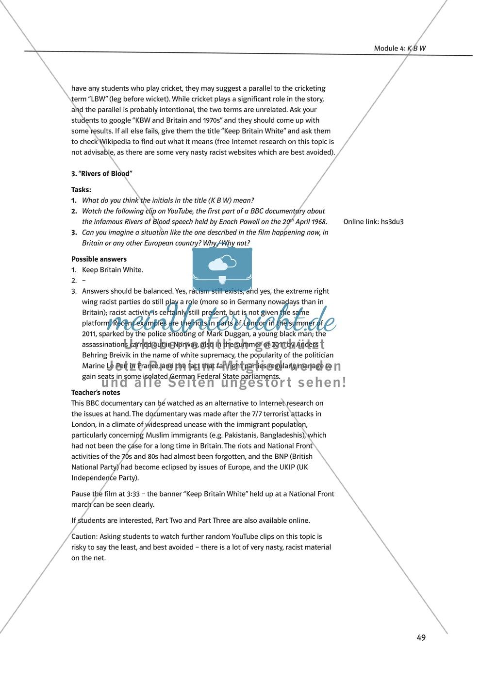 KBW: Zusammenfassung + Aufgaben + Arbeitsblätter Preview 4