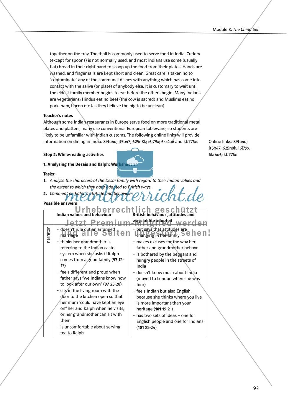 The China Set: Zusammenfassung + Aufgaben + Arbeitsblätter Preview 2