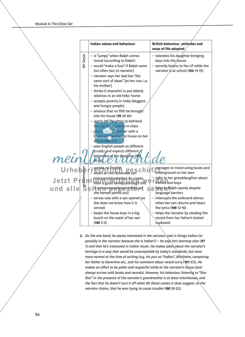 The China Set: Zusammenfassung + Aufgaben + Arbeitsblätter Preview 3