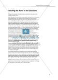 Teaching the Novel in the Classroom: Inhaltszusammenfassung + Kopiervorlagen Preview 3