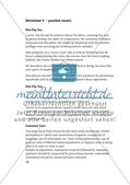Worksheets - Teil 2 Preview 5