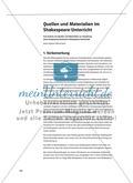 Quellen und Materialien im Shakespeare-Unterricht Preview 1