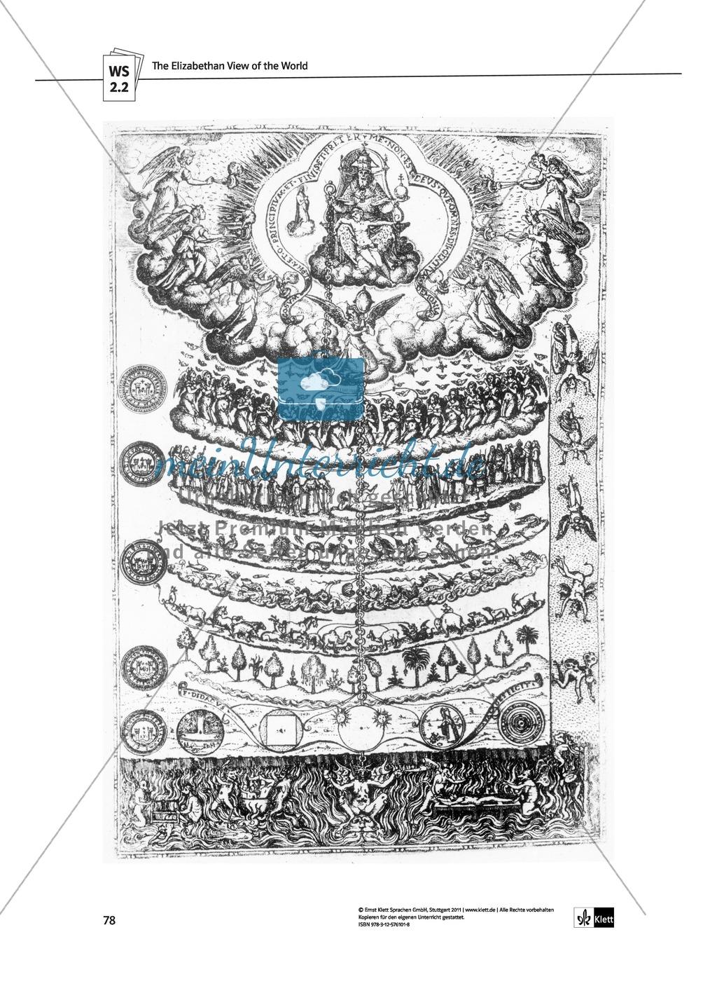 Shakespeare's World - the Elizabethan Age: Themen + Lernziele + Arbeitsblätter + Lösungen Preview 18