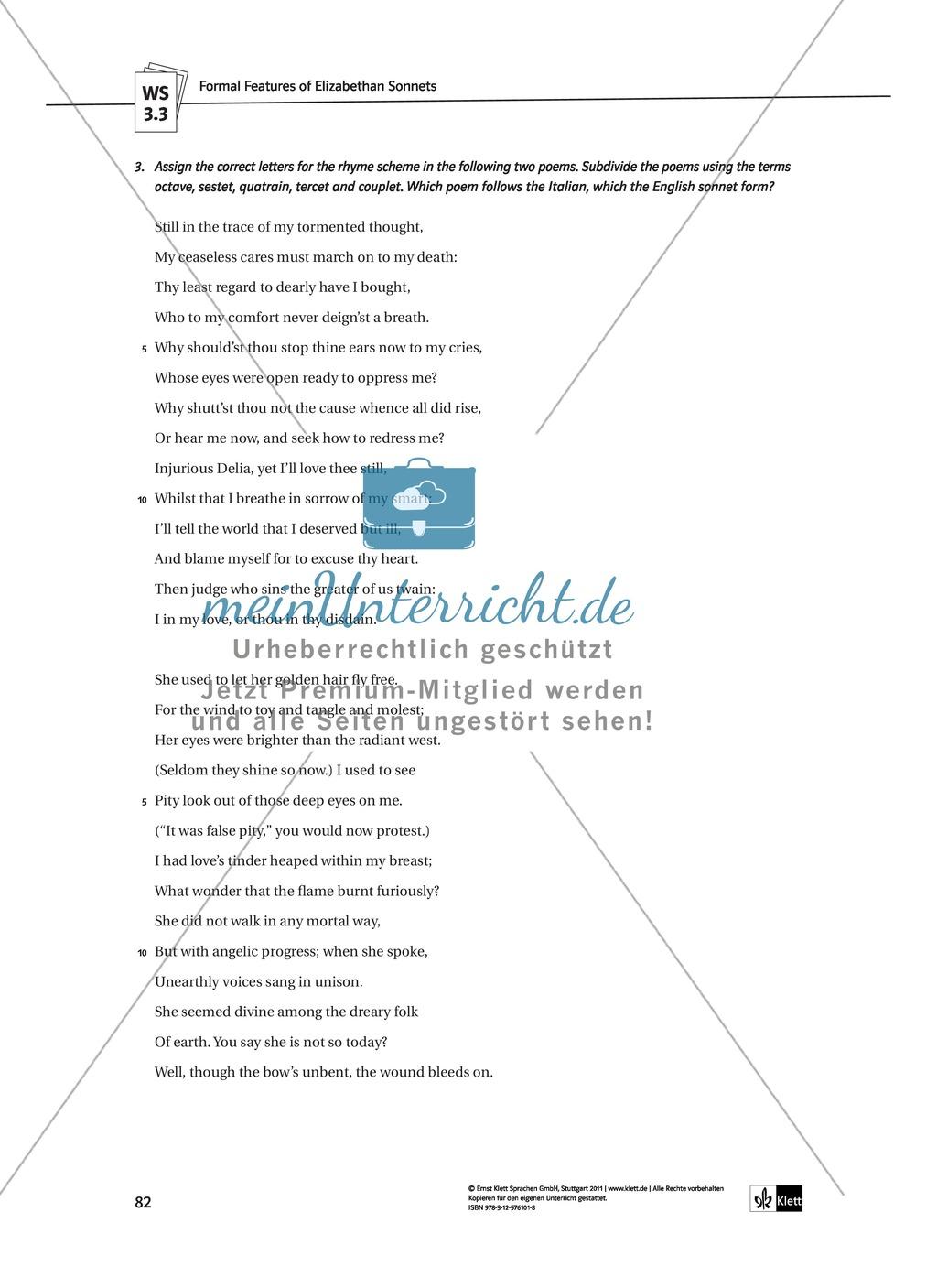 Shakespeare's World - the Elizabethan Age: Themen + Lernziele + Arbeitsblätter + Lösungen Preview 22