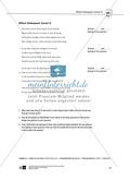 Skills: Analysing Shakespearean Sonnets: Stylistic Devices, Lernziele + Aufgaben + Lösungen Preview 21