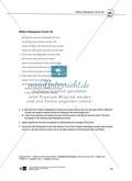 Skills: Analysing Shakespearean Sonnets: Stylistic Devices, Lernziele + Aufgaben + Lösungen Preview 31