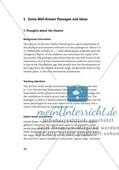 Some Well-Known Passages and Ideas: Auszüge aus bekannten Werken von William Shakespeare + Lernziele + Tipps Preview 1