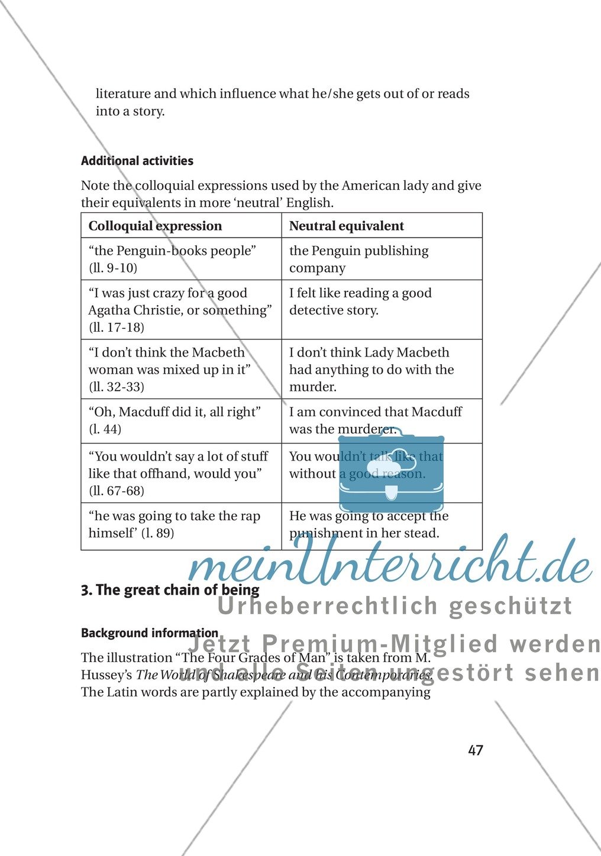 Berühmt Macbeth Arbeitsblatt Antworten Fotos - Super Lehrer ...