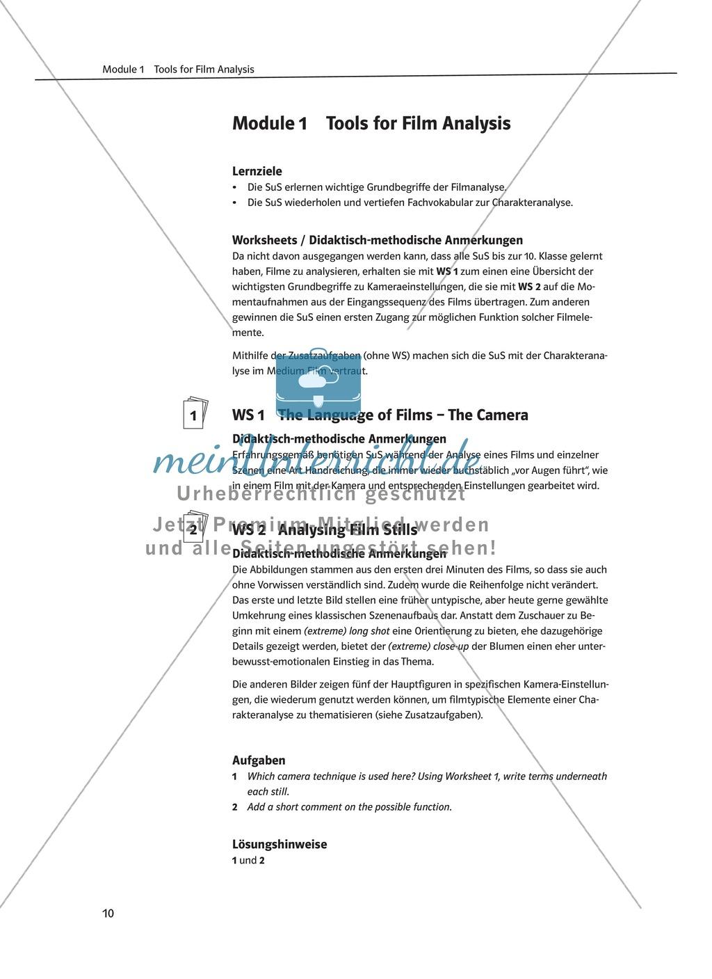 Niedlich Charakteranalyse Arbeitsblatt 5Klasse Ideen - Super Lehrer ...