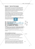 Englisch, Kompetenzen, Methodische Kompetenzen, vocabulary, kameraeinstellungen