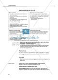 Unterrichtseinheit zu Kapitel 1 und 2 des Romans