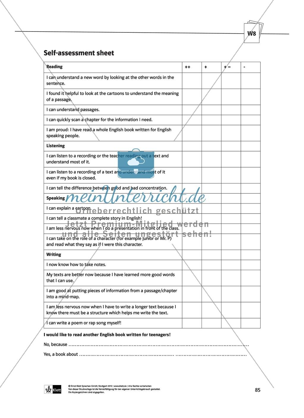 Mögliche Zusatzaufgaben innerhalb einer Unterrichtseinheit zum Thema