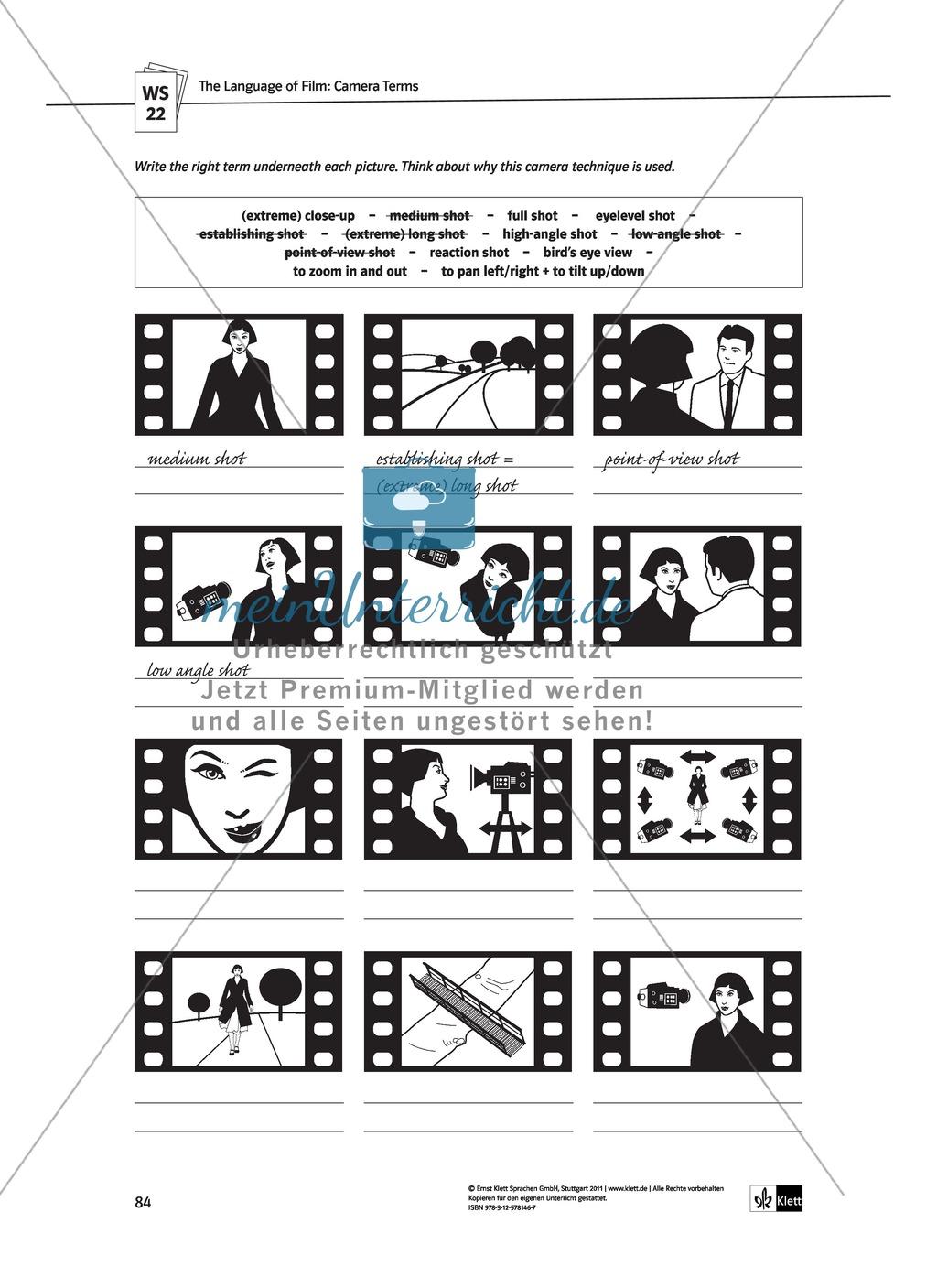 Famous Filmanalyse Arbeitsblatt Image Collection - Mathe ...