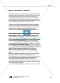 Dreiteilige Klausur mit Aufgaben zum Thema Australien: Hör- und Leseverstehen sowie Essay Thumbnail 1