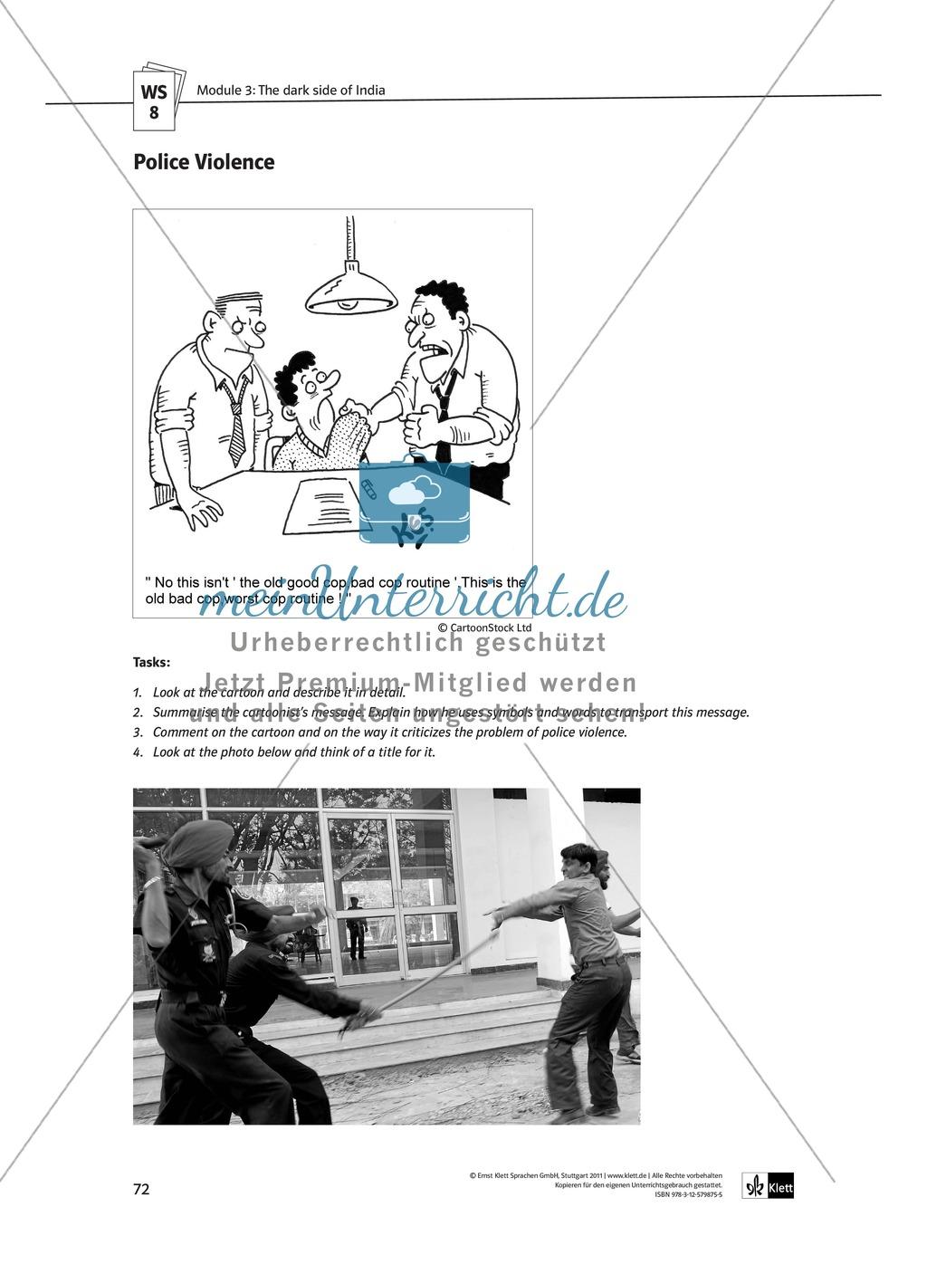 The media in India: Bollywood movies and international TV: Sachanalyse + Lernziele + Unterrichtseinheiten + Kopiervorlagen Preview 24