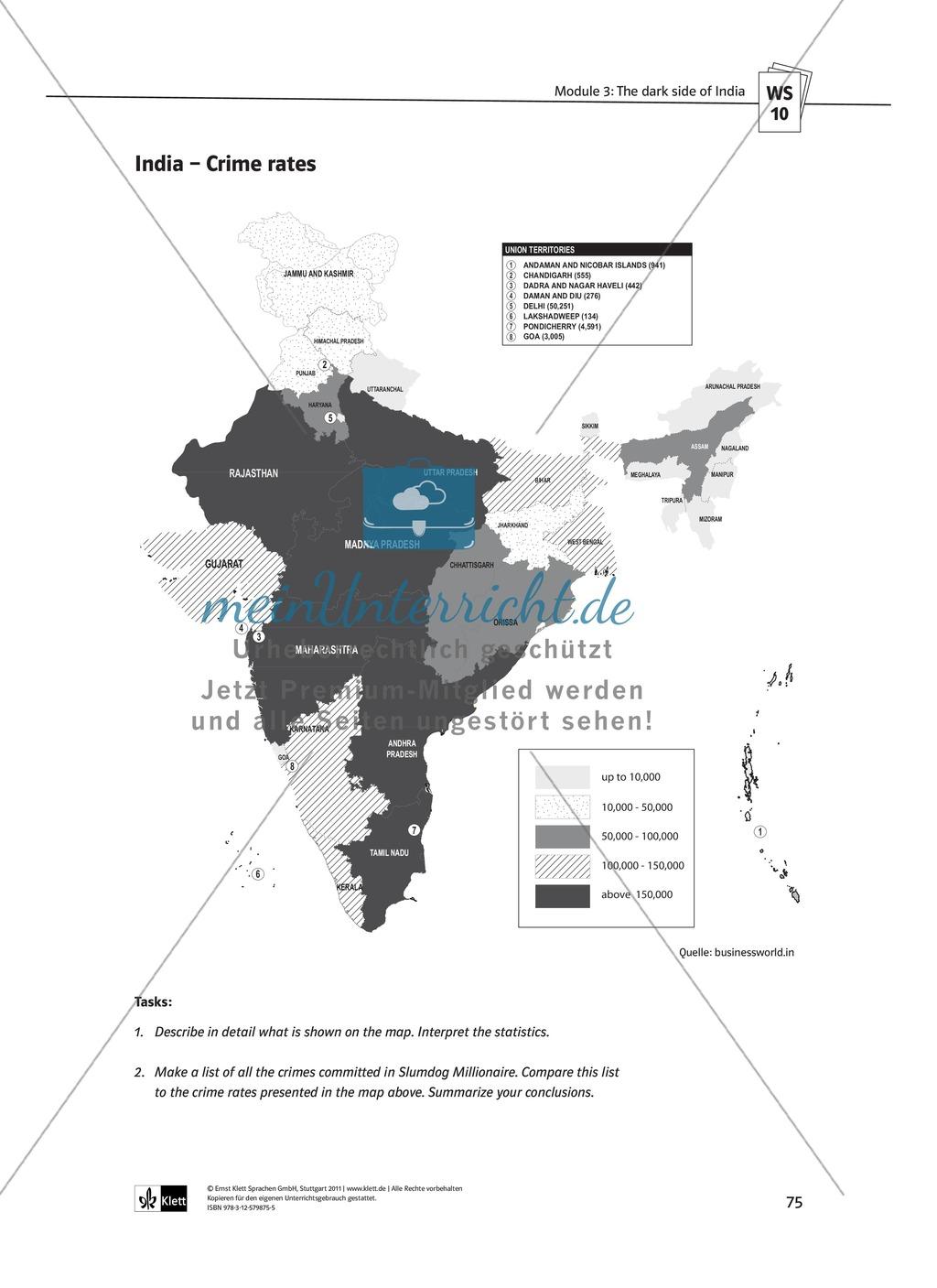 The media in India: Bollywood movies and international TV: Sachanalyse + Lernziele + Unterrichtseinheiten + Kopiervorlagen Preview 27