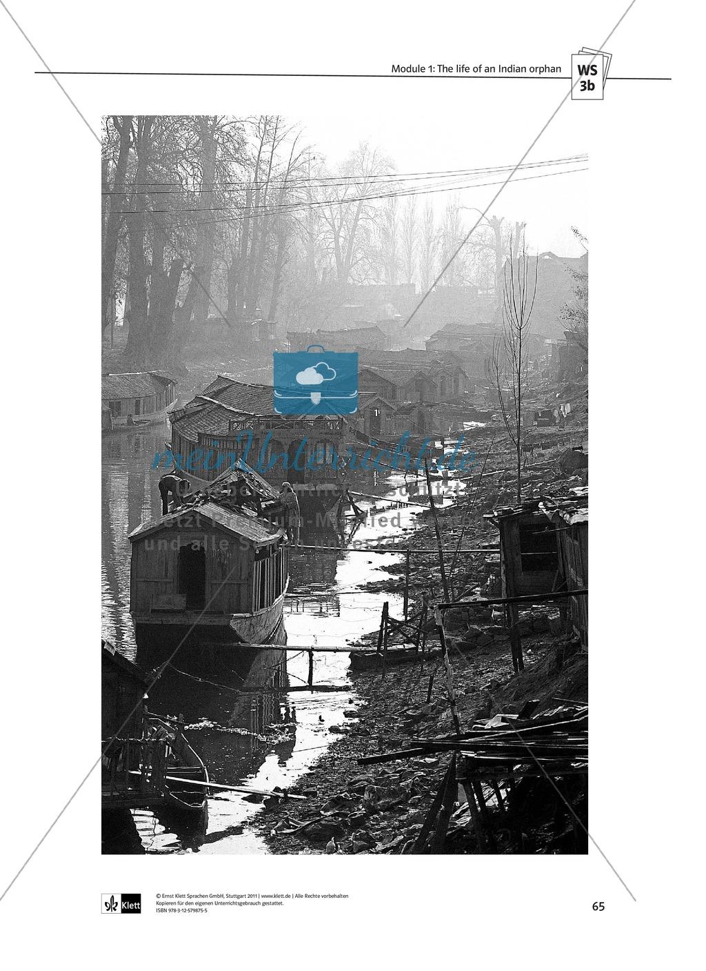 The Movie Slumdog Millionaire: Sachanalyse + Lernziele + Unterrichtseinheiten + Kopiervorlagen Preview 12