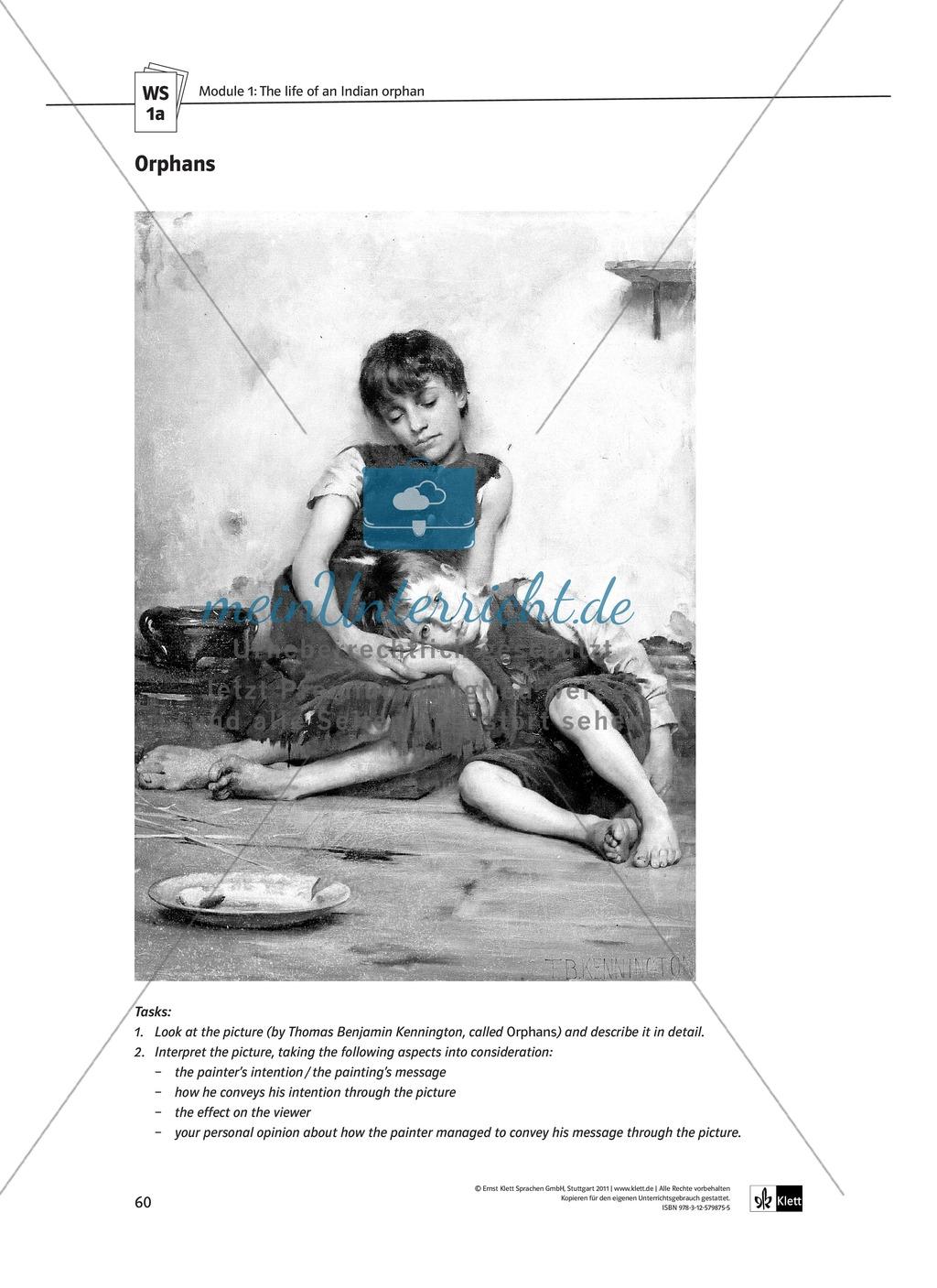 The Movie Slumdog Millionaire: Sachanalyse + Lernziele + Unterrichtseinheiten + Kopiervorlagen Preview 7
