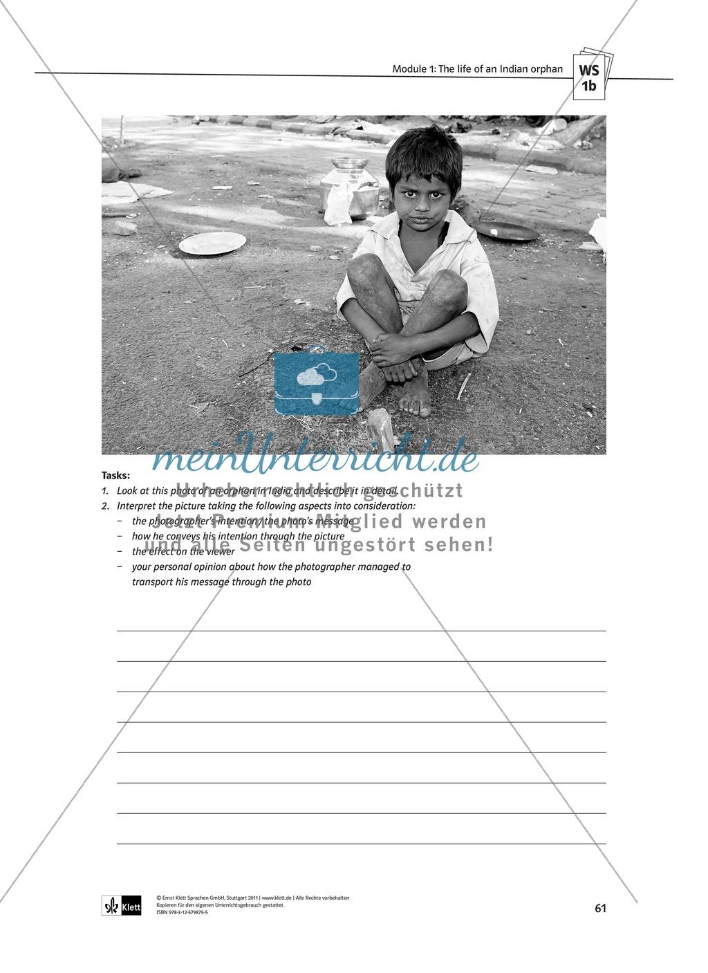 The Movie Slumdog Millionaire: Sachanalyse + Lernziele + Unterrichtseinheiten + Kopiervorlagen Preview 9