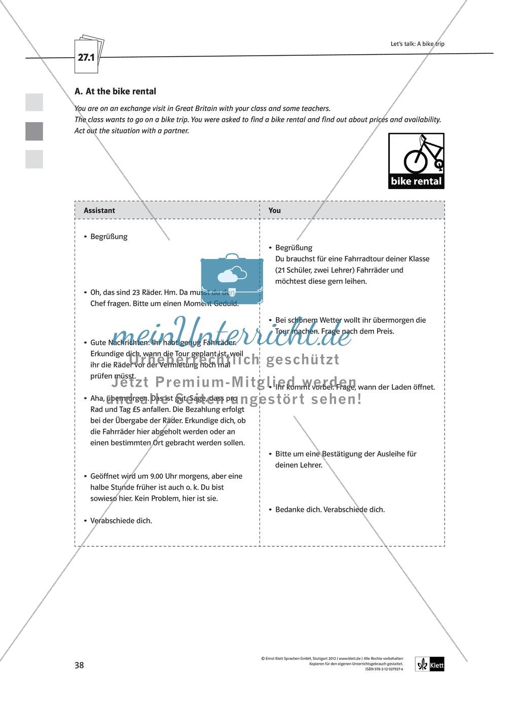Arbeitsblätter für Vertretungsstunden in den Klassen 7 und 8 Preview 10