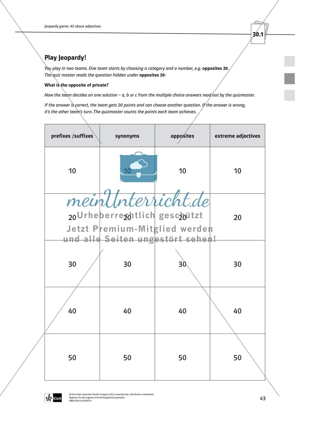 Arbeitsblätter für Vertretungsstunden in den Klassen 7 und 8 Preview 15