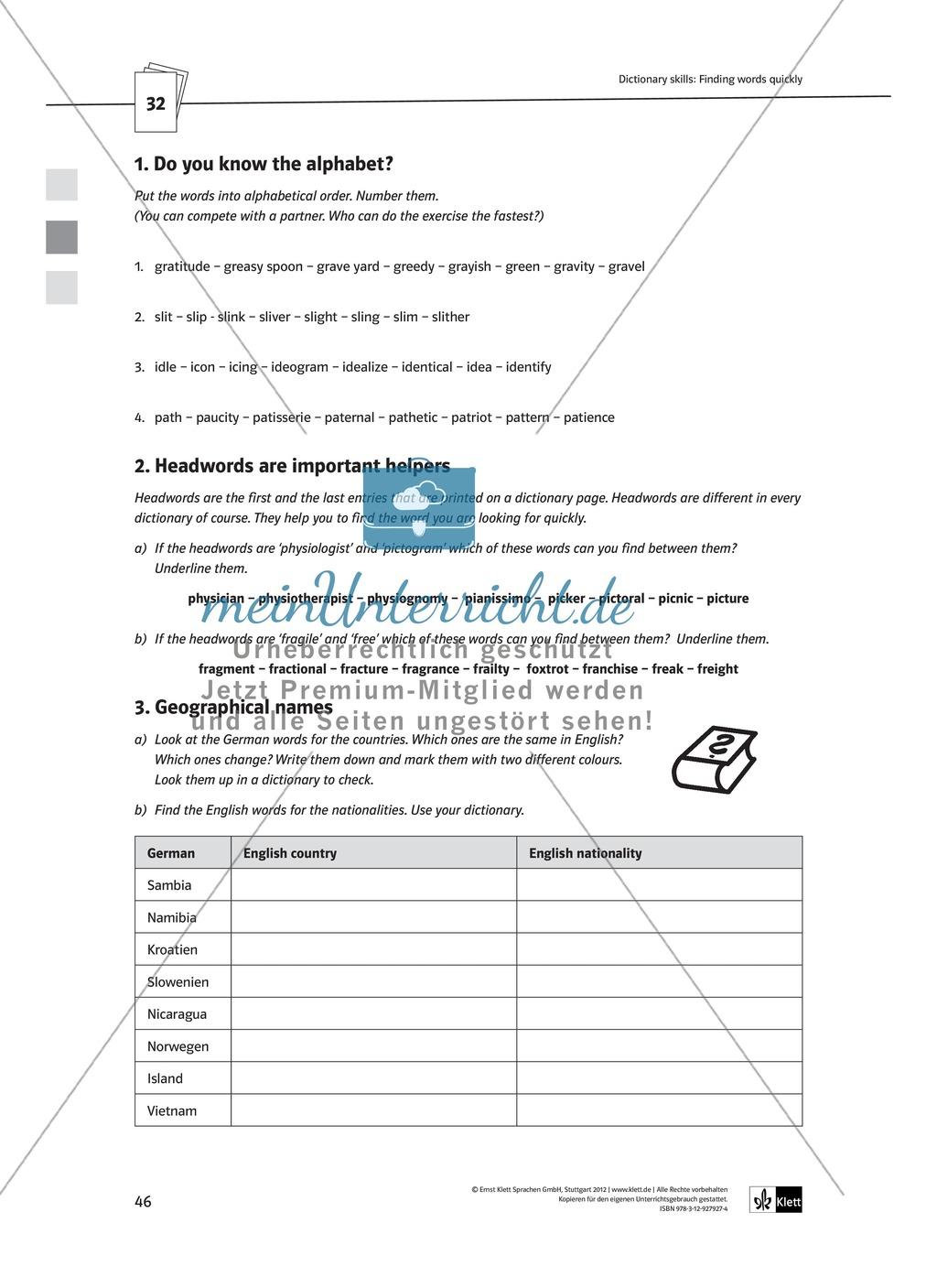 Arbeitsblätter für Vertretungsstunden in den Klassen 7 und 8 Preview 18