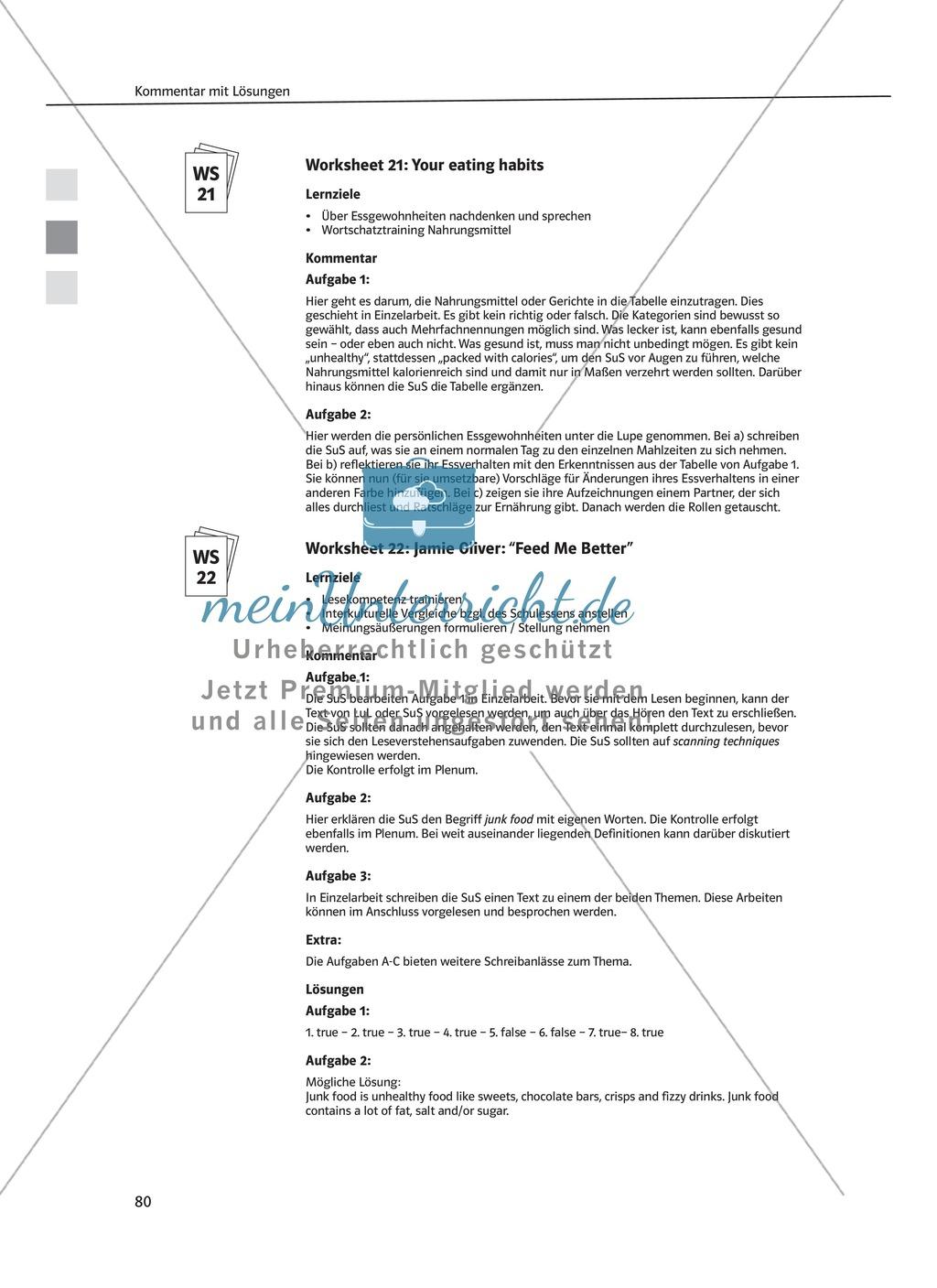Arbeitsblätter für Vertretungsstunden in den Klassen 7 und 8 Preview 21