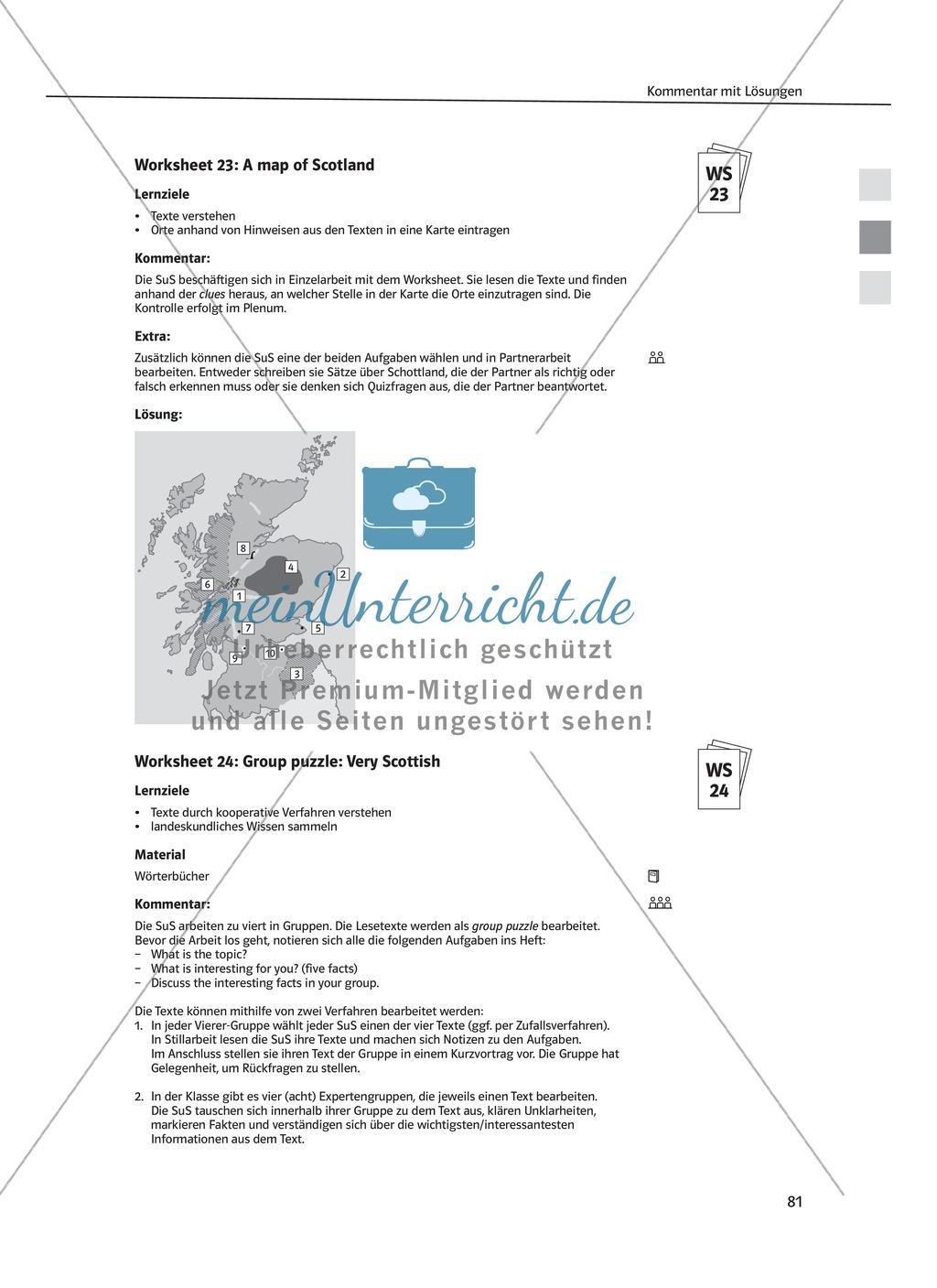 Arbeitsblätter für Vertretungsstunden in den Klassen 7 und 8 Preview 22