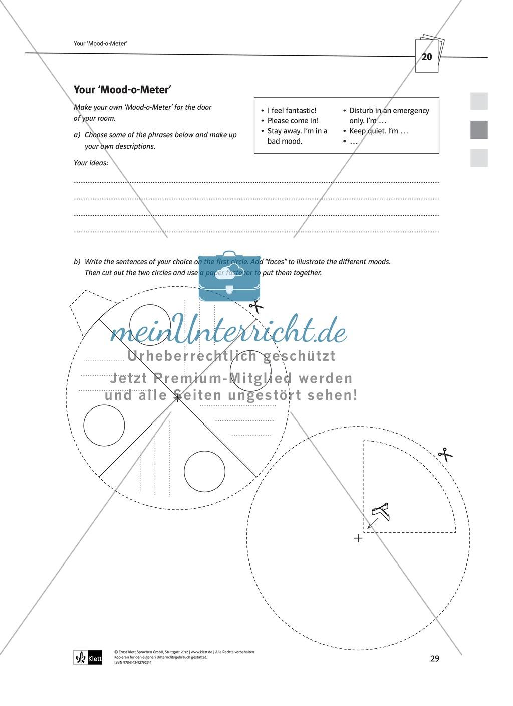 Arbeitsblätter für Vertretungsstunden in den Klassen 7 und 8 Preview 1
