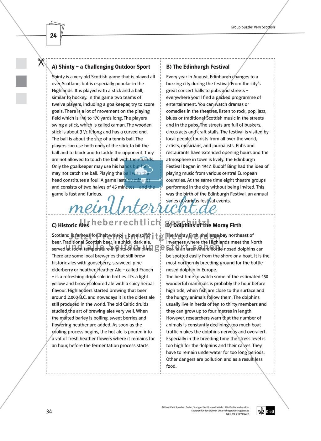 Arbeitsblätter für Vertretungsstunden in den Klassen 7 und 8 Preview 6