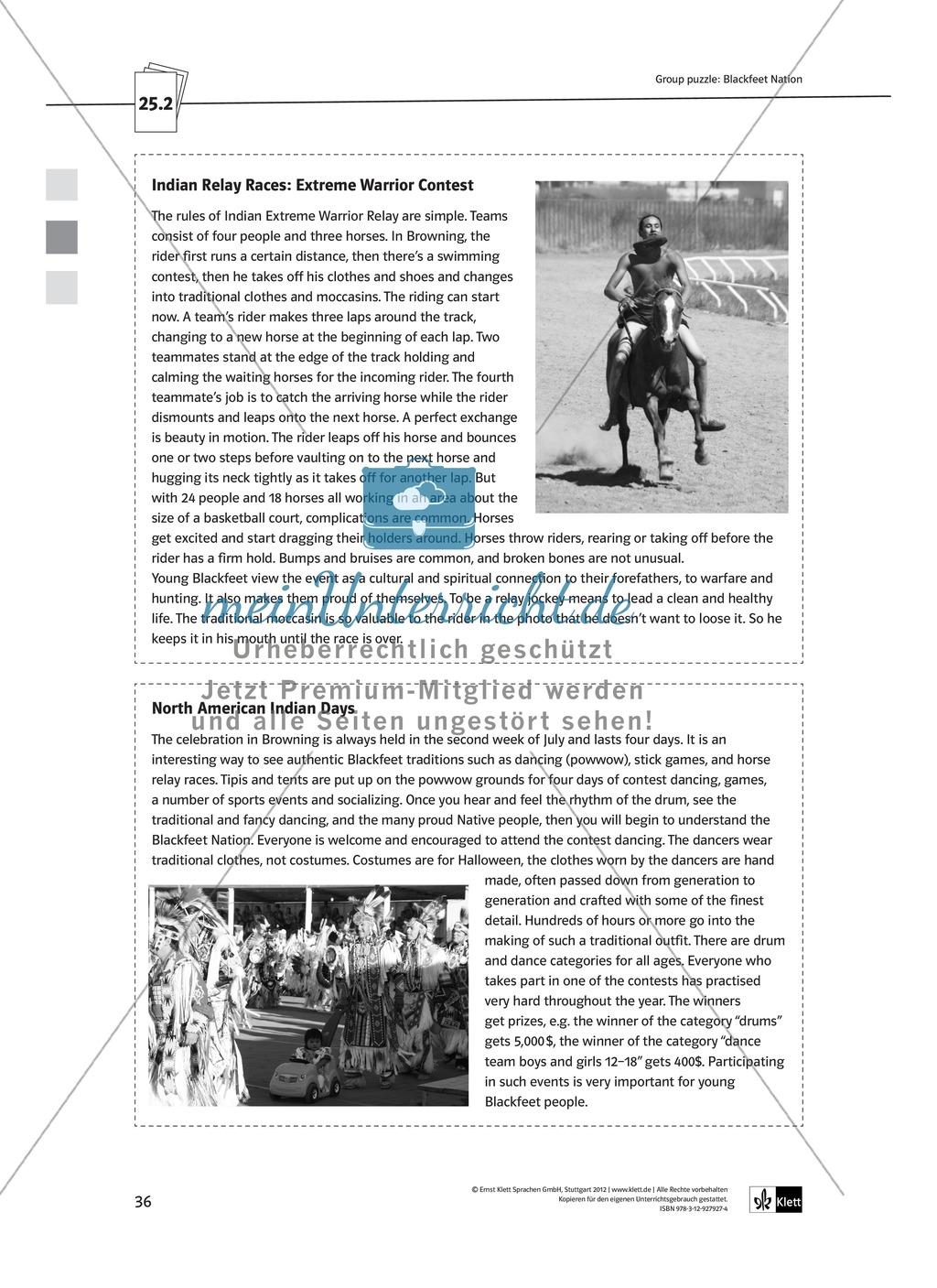 Arbeitsblätter für Vertretungsstunden in den Klassen 7 und 8 Preview 8
