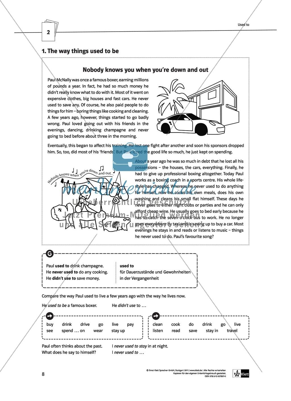 Englische Grammatik üben: Arbeitsblätter zu modalen Hilfsverben ...