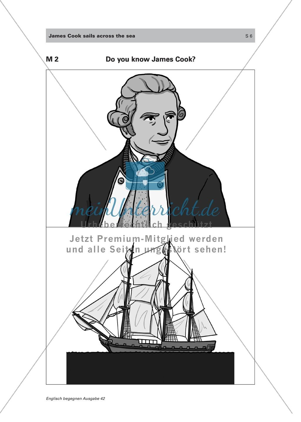 Den Seefahrer James Cook und einige englischsprachige Länder kennen lernen Preview 1