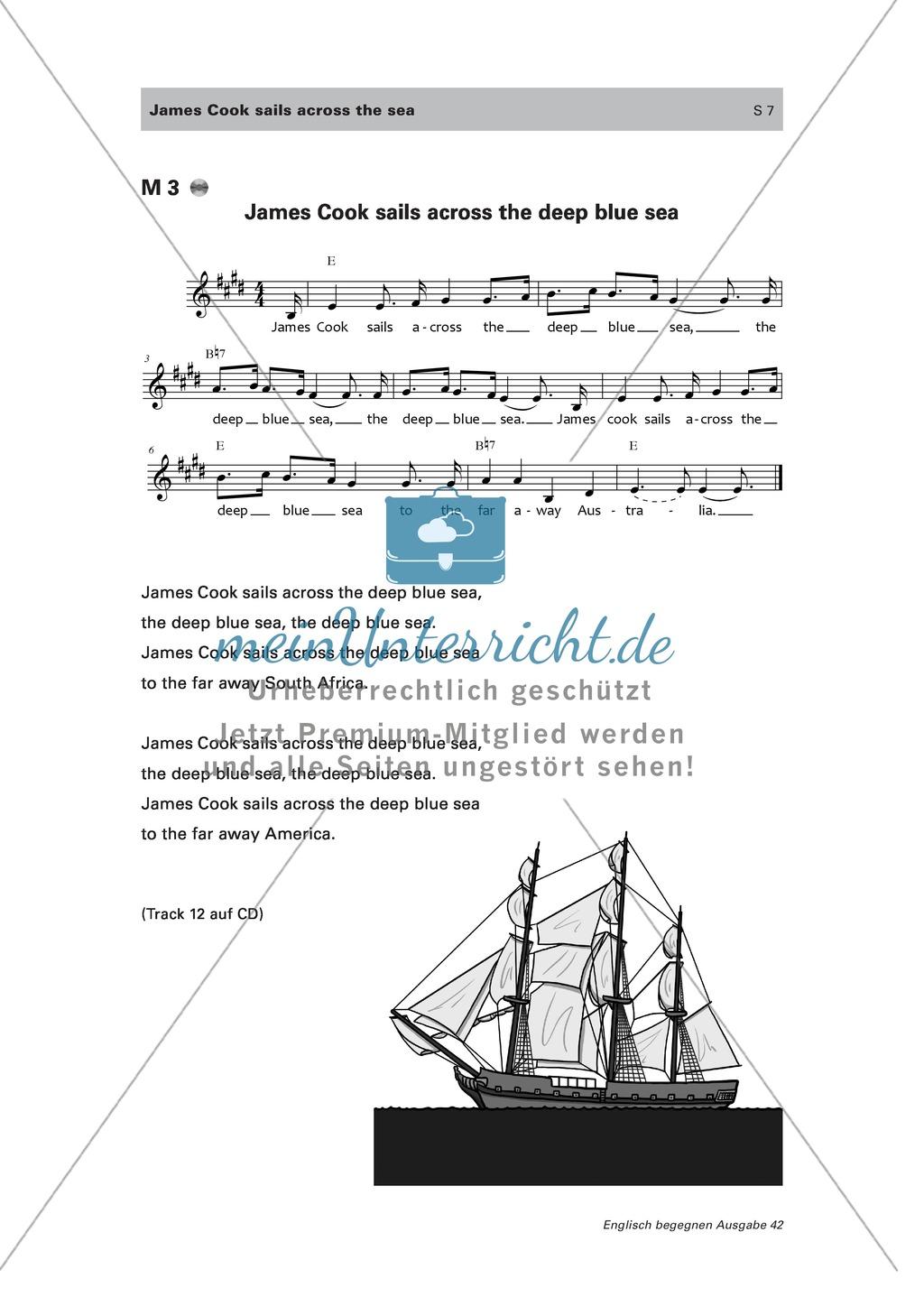 Den Seefahrer James Cook und einige englischsprachige Länder kennen lernen Preview 2