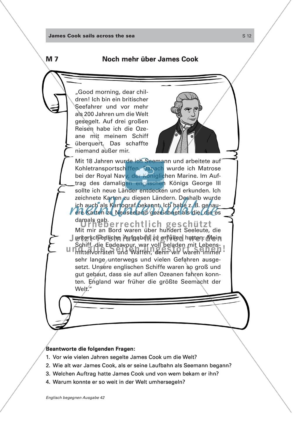 Den Seefahrer James Cook und einige englischsprachige Länder kennen lernen Preview 7