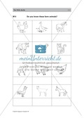 Englischen Wortschatz erarbeiten: animals on the farm + numbers Preview 11