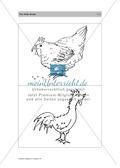 Englischen Wortschatz erarbeiten: animals on the farm + numbers Preview 9