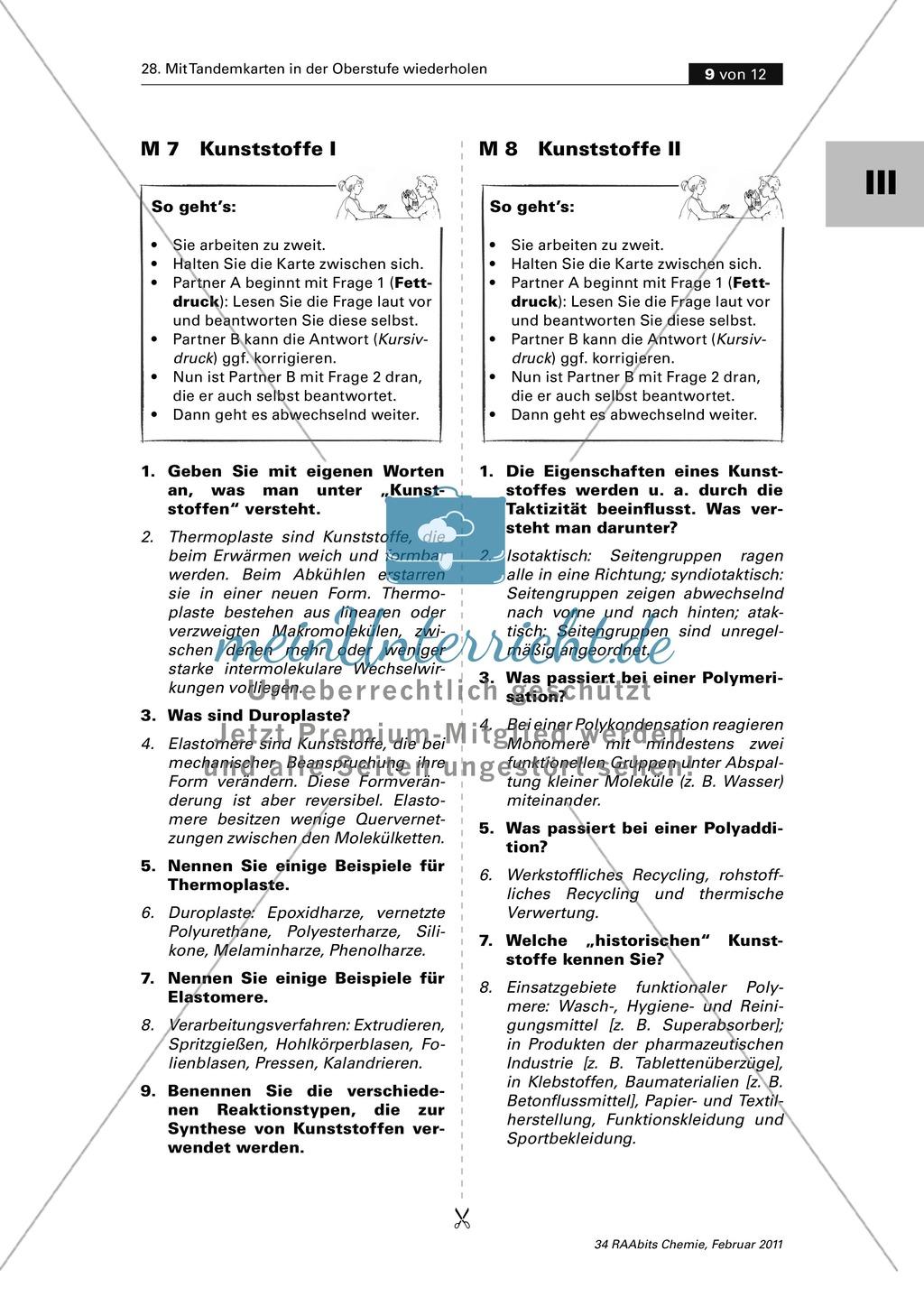 Wunderbar Reaktionstypen Arbeitsblatt Antwortschlüssel Fotos ...
