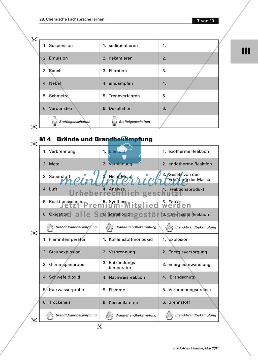 Fachsprache spielerisch korrekt anwenden lernen Preview 4
