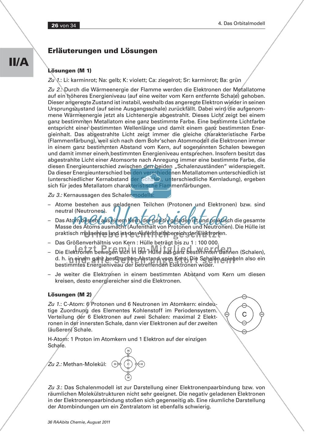 Das Schalenmodell - Anwendungsbereiche und Grenzen Preview 2
