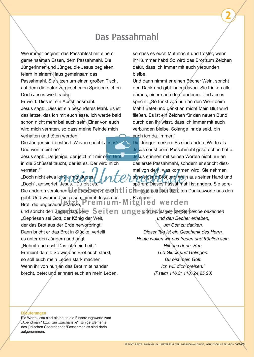 Ostern- Die Leidensgeschichte Jesu Preview 1