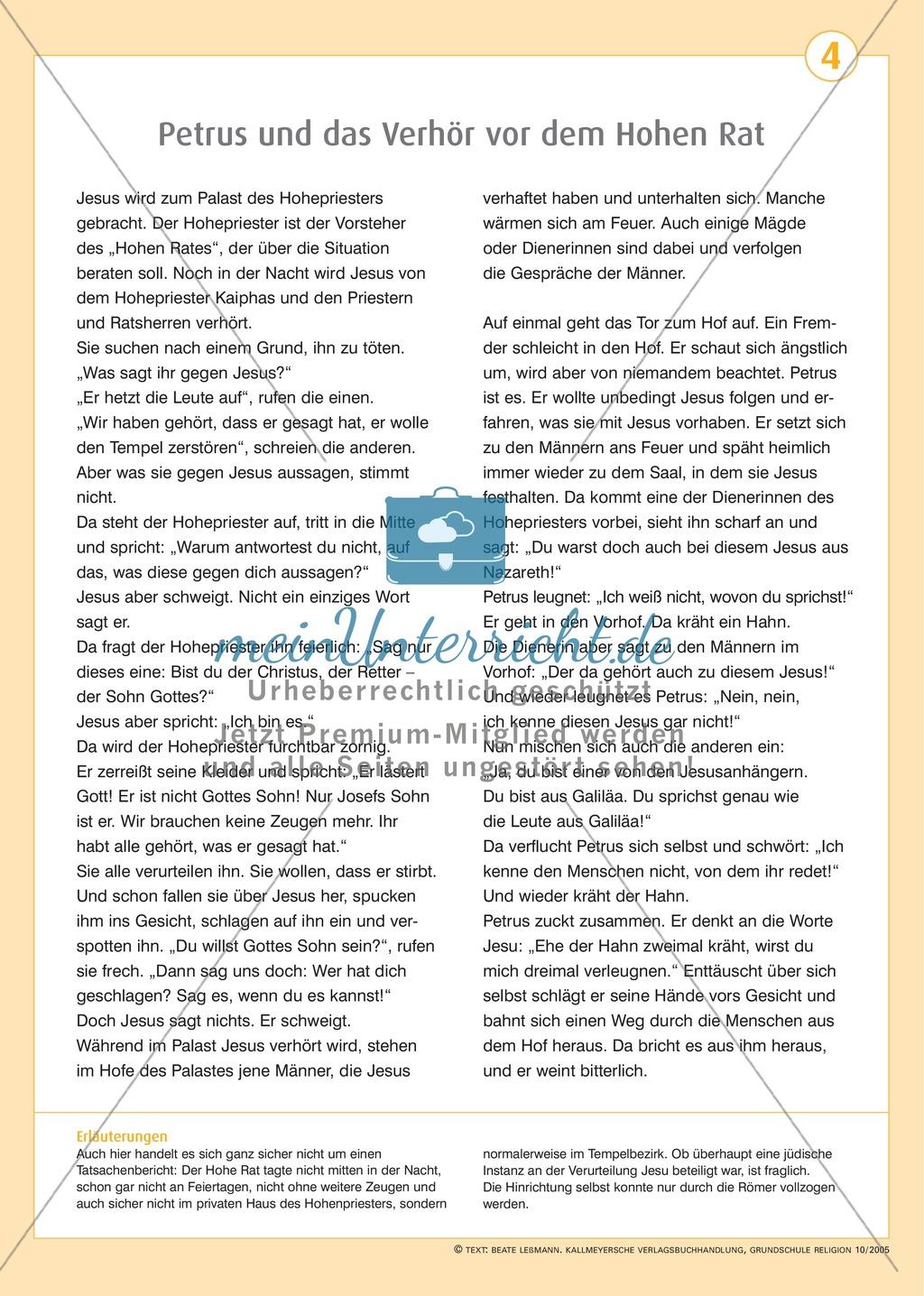 Ostern- Die Leidensgeschichte Jesu Preview 3