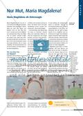 Maria Magdalena als Osterzeugin: Ein Weg-Leporello Preview 1