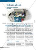 Helfen im Advent: Mitmachaktionen und Hilfsprojekte in der Schule Preview 1