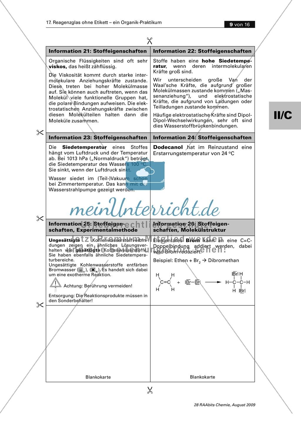 Verfahrensschema zur Identifizierung unbekannter Kohlenstoffverbindungen Preview 4