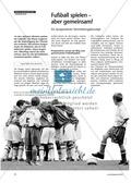 Sport, Ballsport, Fußball, kooperation